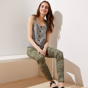Loft Camo Skinny Pants